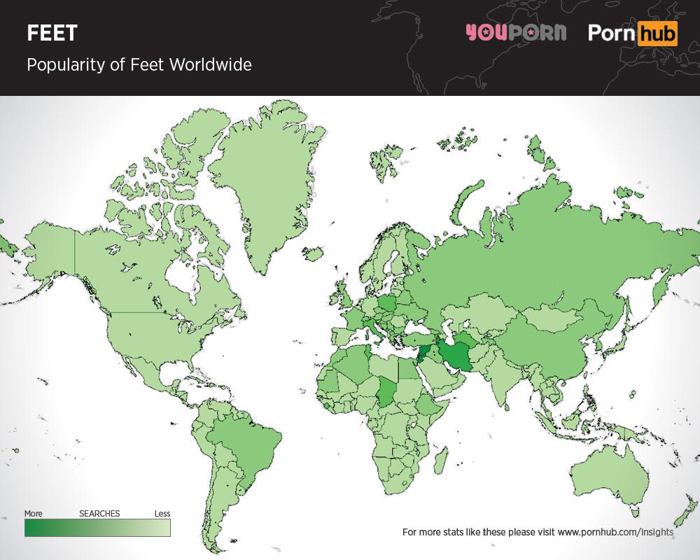 pornhub-feet-searches-worldwide
