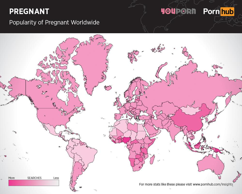 pornhub-pregnant-searches-worldwide