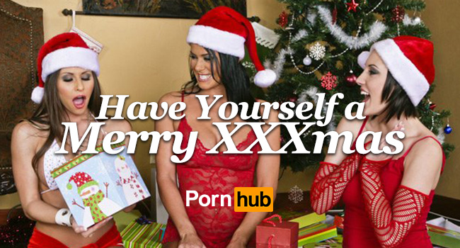 christmas is just around the corner so to get everyone into the horny holiday spirt pornhubs statisticians are taking a closer look at what sexy seasonal - Christmas Porn Pics